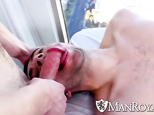 Gay masseur couldn't hold himself and passionately fucked his client