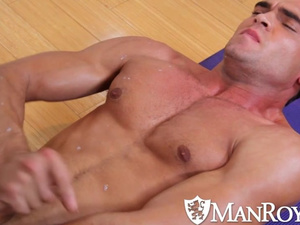 Strong and sexy shaped twinks are pleasuring exciting hot gay fuck