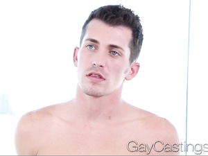 Young gay boy comes to casting to fuck in HD video