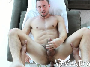 Rocky muscled twink pleasures hardcore gay fuck with boyfriend