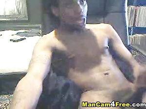 Bearded hunk is exciting from gay porn and jerking off