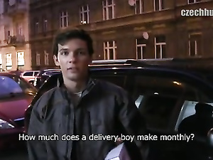 Delivery guy earns more than his monthly payment